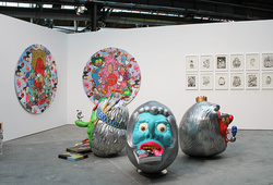 """abc - art berlin contemporary 2013"" Installation View"