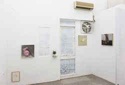 """Fragments"" Installation View #1"