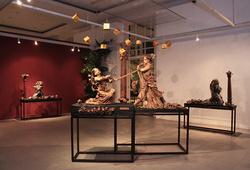 """""""Drupadi Pandawa Diva"""" Installation View #3"""