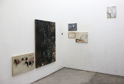 """Fragments"" Installation View #2"