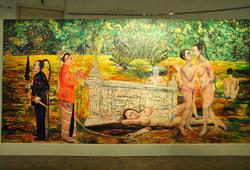 Reclaim Paradise (triptych)