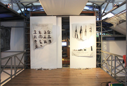 """""""Patriotic Myth of Space Age"""" Installation View #4"""