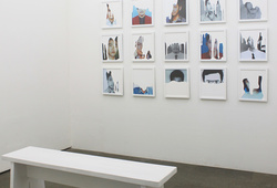 """Blink / Glance / Gaze"" Installation View #4"