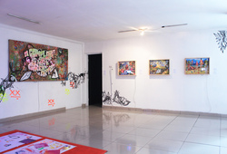 """Galnas Residency Program"" Installation View"