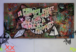 A Complaint Artist is Not The Great Artist
