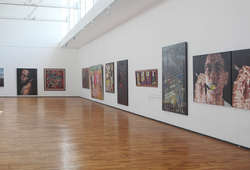 """Seeing Paintings: Conversation Before The End of History"" Installation View #4"