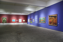 """Seeing Paintings: Conversation Before The End of History"" Installation View #5"