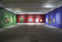 """Seeing Paintings: Conversation Before The End of History"" Installation View #6"