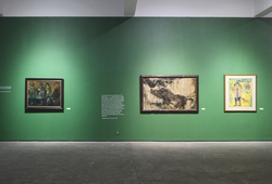 """Seeing Paintings: Conversation Before The End of History"" Installation View #7"