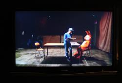 Merekam Latihan Dua Orang Aktor Dalam La Lecture-nya Henri Fantin – Latour (Detail)