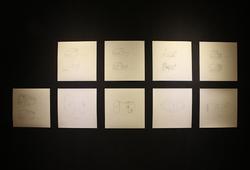 Sesi Menggambar Bersama Seniman Muda Tentang Organisir or Mobilisir (Instalasi View)