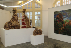 The relation beetween hope and the blood (Installation View #3)