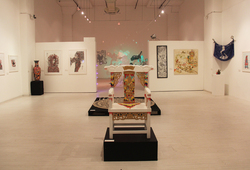 Neo Folk Exhibition Installation View