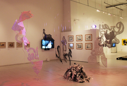 Neo Folk Exhibition Installation View #2