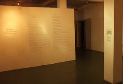 """The Memories of Unidentified Experience"" (Exhibition View #2)"