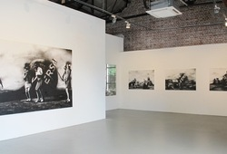 """Vox Clamantis in Deserto"" Installation view"