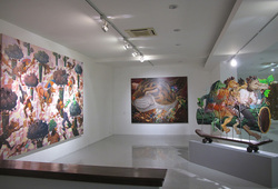 """Visual Voice The Wild & The Domestic"" Installation View #6"
