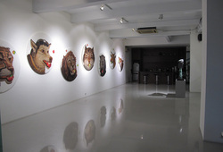 """Visual Voice The Wild & The Domestic"" Installation View #7"