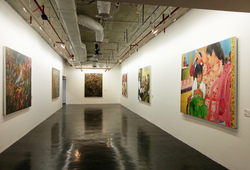 """Post Bali"" Installation View #1"