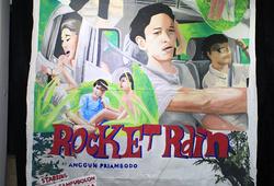 """""""Reimagining Rocket Rain"""" Installation view #2"""