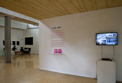 """1x25JAM"" Installation view #1"