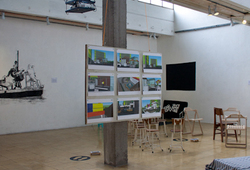 """1x25JAM"" Installation view #3"