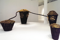 """Abiogenesis: Terhah Landscape"" Installation View #2"
