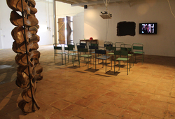 THE WALL / STRUCTURE / CONSTRUCTION / BORDER / MEMORY (Installation View 1)