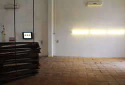 THE WALL / STRUCTURE / CONSTRUCTION / BORDER / MEMORY (Installation View 5)