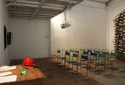 THE WALL / STRUCTURE / CONSTRUCTION / BORDER / MEMORY (Installation View 6)