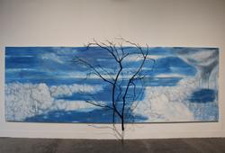 Schwarzer Baum Im Himmel