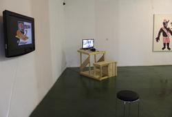 """""""Pukul 4 di Ruang Publik"""" Installation View #3"""
