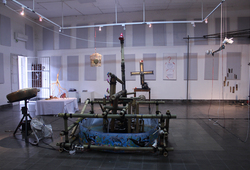 """Instrument Builders Project "" Installation View #3"