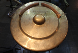Ecology Gong (Collaboration with Dale Gorfinkel) - Detail #1
