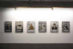 """Third World Asian People"" Installation View"