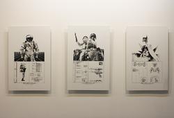 """Lapan Studies"" Installation View"