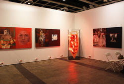 """Art Basel Hong Kong 2014 Galeri Canna"" Installation View #2"