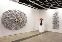 """Art Basel Hong Kong 2014 ARNDT"" Installation view #2"