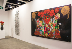 """Art Basel Hong Kong 2014 ARNDT"" Installation view #3"