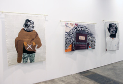 """Art Basel Hong kong 2014 Lombard Freid"" Installation View"