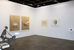 """Art Basel Hong Kong 2014 Nadi Gallery"" Installation View #1"