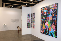 """Art Basel Hong Kong 2014 Nadi Gallery"" Installation View #3"