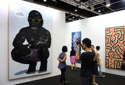 """Art Basel Hong Kong 2014 Paul Kasmin"" Installation View #1"