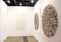 """Art Basel Hong Kong 2014 ROH Projects"" Installation View #1"