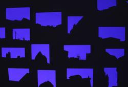 """Il Fait Bleu (paper) """"detailed view"""""""