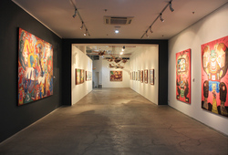 """The World And I: Heri Dono Art Odyssey"" Installation View #13"