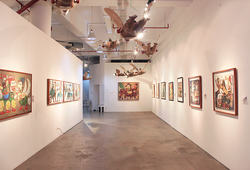 """The World And I: Heri Dono Art Odyssey"" Installation View #14"