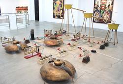 """The World And I: Heri Dono Art Odyssey"" Installation View #5"