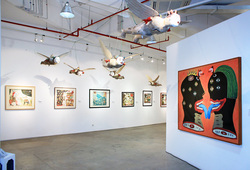 """The World And I: Heri Dono Art Odyssey"" Installation View #6"