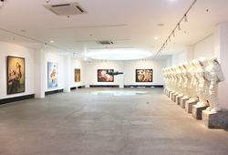 """The World And I: Heri Dono Art Odyssey"" Installation View #7"